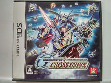 SD Gundam GGENERATION CROSS DRIVE (2007) Pre-Owned Japan Nintendo DS NDS Import