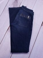 "GUESS STRETCH DENIM FLARE JEANS SIZE 27 X 32"" LONG"