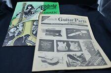 2 Vtg Guitar Parts Catalogs-Stewart MacDonald(1985) & Elderly Instruments(1991)