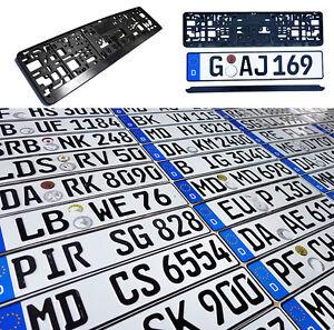 ORIGINAL German License Plate Mazda Acura Audi BMW Mercedes Benz Porsche VW Fiat