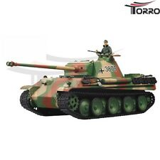 RC Panzer German Panther 2.4 GHz Heng Long TORRO Sound Schuss Metallgetriebe Neu