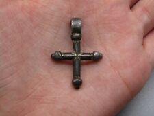 Very Rare Medieval Silver Gilt Cross