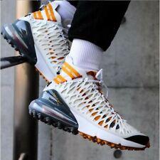 Nike Air Max 270 ISPA White Amber Rise Trainers Shoes UK 6 EU 40