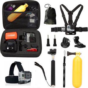 Accessories Kit Mount set for Gopro go pro hero 3 4 6 5 Session SJCAM Xiaomi yi