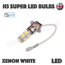 1x CANBUS H3 LED BULB 9 SMD WHITE HEADLIGHT FOG LIGHTS DRIVING CORNERING BULBS