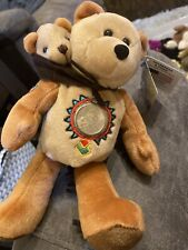 limited treasures coin bear Sacagawea And Pomp Bennie Baby