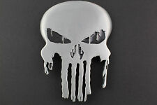 THE PUNISHER SKULL GUN METAL GREY BELT BUCKLE  MARVEL COMIC BOOK MOVIE SUPERHERO
