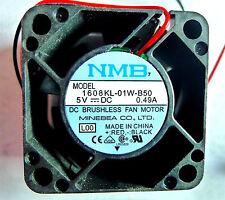 LOT OF 5 - NMB Technologies 1608KL-01W-B50  DC Axial Fans -Minebea   New Prime