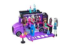 Monster High Deluxe Bus Transforms into a Mobile Salon 4 Areas of Play NEW