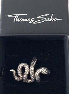 Thomas Sabo - Ring - Schlange - Sterlingsilber - Gr. 56
