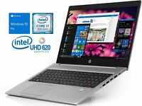 "HP ProBook 450 G6 15.6"" Intel Quad Core i7-8565U 256GB M.2 SSD 8GB RAM WIN 10"