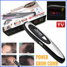 LASER COMB BRUSH GROWTH HAIR LOSS POWER GROW KIT REGROW HAIR CARE MEN BLACK