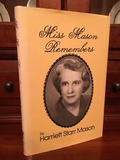 RARE 1986 Miss Mason's School History, Charleston, SOUTH CAROLINA Prep, SC, 1st