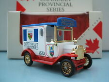 Lledo Days Gone Model DG6 T Ford Van Canadian North West Territories Canada 1870