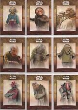 Star Wars - The Force Awakens Series 2 - Mazs Castle-Set von Topps 2016