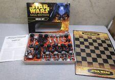 Hasbro Star Wars Saga Edition Chess Set  Incomplete