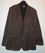 Prontomoda Europa Men's Light Brown Wool/ Cashmere Sportcoat SZ 42 R NEW