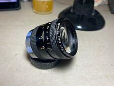 Kowa TV Lens 50mm f/1.3 C Mount Lens