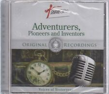 [Great Audio Moments] Adventurers, Pioneers And Inventors: Voices. NEW