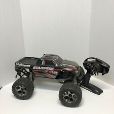 Traxxas Stampede 4x4 VXL ARTR MONSTER TRUCK BLACK RED BASHER 4WD BRUSHLESS