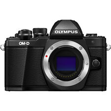 Olympus OM-D E-M10 Mark II Mirrorless Four Thirds Digital Camera Body (Black)