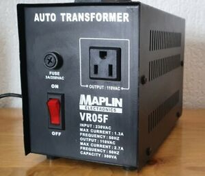 MAPLIN VR05F Auto Transformer 230 v to 110 volt 110vac