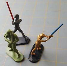 Sword Wielding Knight Figures People Figurine Plastic