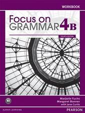 Focus on Grammar Workbook Vol. 4B 4th Edition, NEW ESL 9780132169684