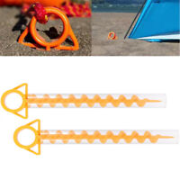 Ground Support Sand Pegs Ground Screw Nail Floor Nail Hook Tent Stakes Pegs