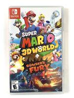 Super Mario 3D World + Bowser's Fury (Nintendo Switch) Game Complete CIB LN