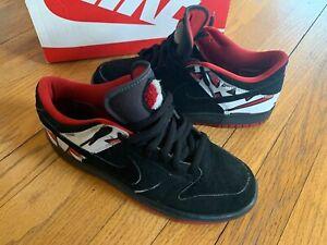 Nike Dunk Low Jordan Pack Playoff 8 2007 EUC Size 10 RARE No Box