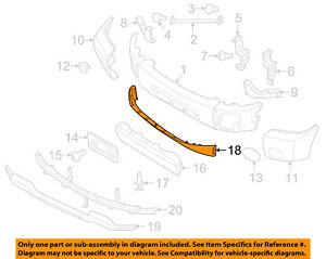 NISSAN OEM 14-15 Titan-Spoiler / Wing Kit 628229FM0A