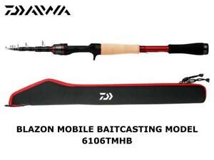 Daiwa Blazon Mobile Baitcasting Model 6106TMHB casting rod ship from Japan