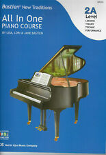 Bastien New Traditions All In One Piano Course Level 2A - New