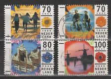 NVPH Nederland Netherlands 1678 - 1681 used Vakantie 1996