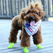 Waterproof Pet Dog Shoes 4Pcs/set Colorful Sport Shoe Portable Rain Boots