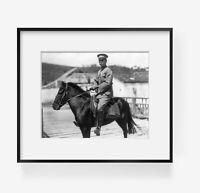 Photograph of Kai-Shek Chiang, 1887-1975 Summary: Full lgth., on horseback, faci