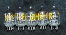 5 Western Electric NOS Tube's  435A / 435-A Black Plate Excellent Matched Set