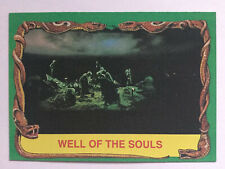 Indiana Jones Raiders Of The Lost Ark Topps 1981 Card 48 Well of The Souls