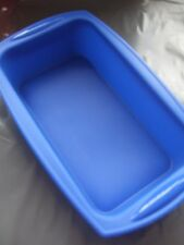 Silicone Mould Large Loaf Pan/ Cake Tin- 21cm x 11cm Base