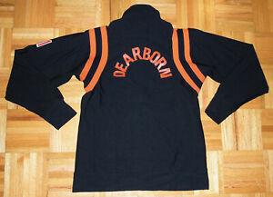 Betlin Vintage Jacket Athletic Warm Up 1/4 Zip Dearborn Michigan Sports Size MED