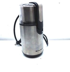 KitchenAid Blade Electric Stainless Steel Coffee Grinder Spice Herb Mill Silver