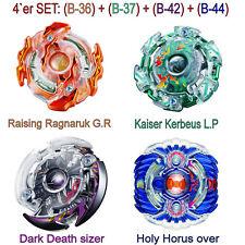 Beyblade Burst 4er SET: Rising Ragnaruk, Kaiser Kerbeus, Dark Death & Holy Horus