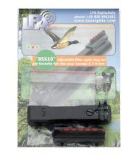 LPA adjustable fiber optic sight set slug rifle