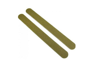 2 x GOLD WOOD NAIL BOARD 12CT. - 100/100 Grit