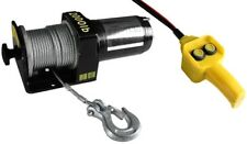 12 Volt 12V Electric Cable Bumper Power ATV Remote Controlled Control Winch
