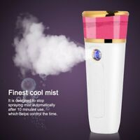USB Portable Nano Mist Spray Atomization Mister Face Facial Moisturizing Handy