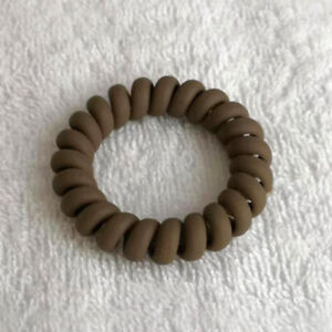 Women Ladies Hair Bands Elastic Rubber Telephone Wire Hair Ties Rope Accessories