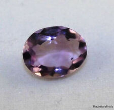 NATURAL AMETHYST GEMSTONE 8X10mm PURPLE FACETED OVAL 2CT LOOSE GEM AM35C