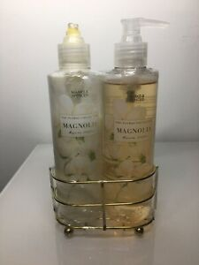 M&S The Floral Collection Magnolia Hand Wash & Enrished Shea Butter Body Lotion
